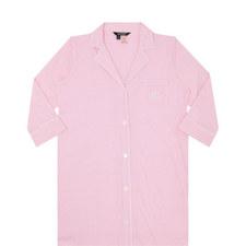Pinstripe Pyjama Shirt