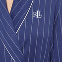 Striped Shawl Collar Robe, ${color}