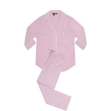 Notched Collar Pyjama Set