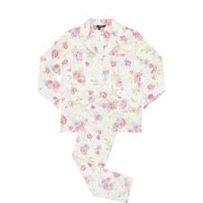 Floral Long-Sleeved Pyjama Set