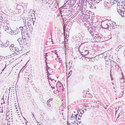 Paisley Print Three-Quarter Sleeve Pyjama Set, ${color}