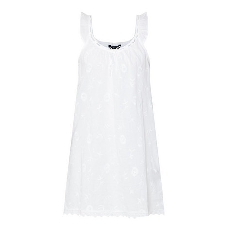 Embroidered Chemise, ${color}