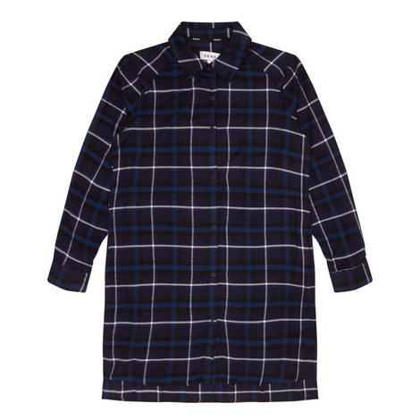 Plaid Sleepshirt, ${color}
