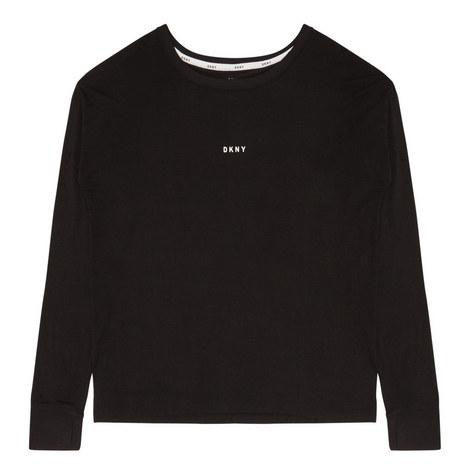 Long Sleeve Logo Top, ${color}
