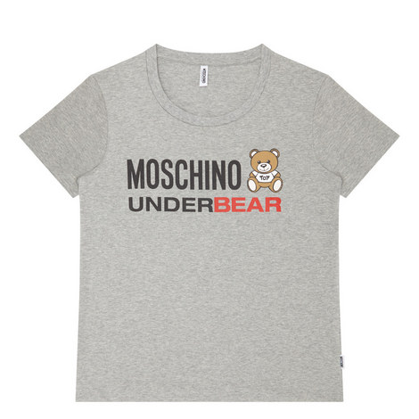 Bear Logo Pyjama Top, ${color}