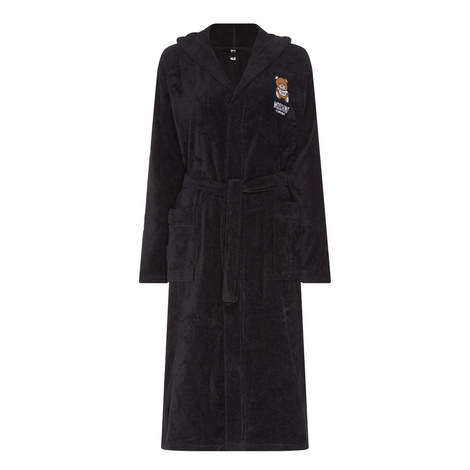 Logo Embroidered Robe, ${color}