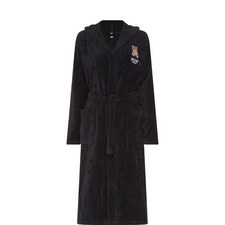 Logo Embroidered Robe