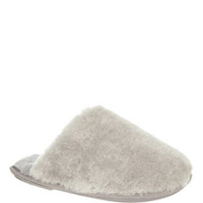 WOOLY SLIPPERS GREY