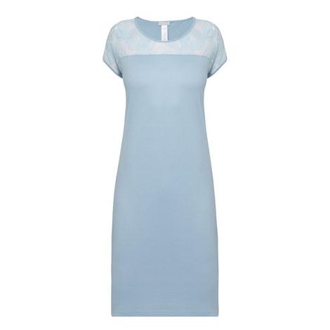Yolanda Short Sleeve Nightdress, ${color}