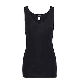 Woollen Silk Tank Top