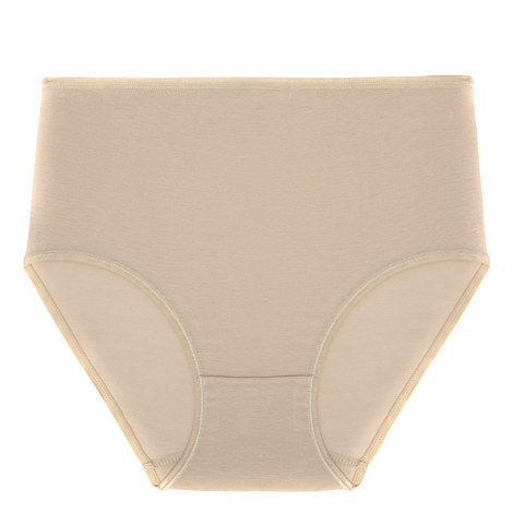 Cotton Seamless Maxi Brief, ${color}