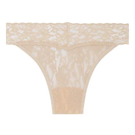 Signature Lace Thong, ${color}