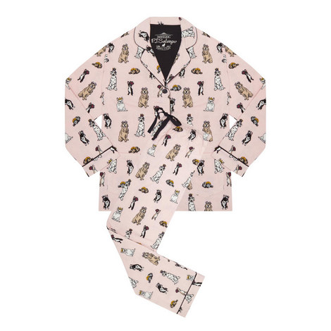 Royal Dogs Pyjama Set, ${color}