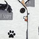 Dog Print Pyjama Set, ${color}