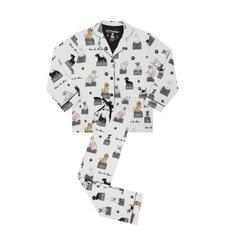 Dog Print Pyjama Set