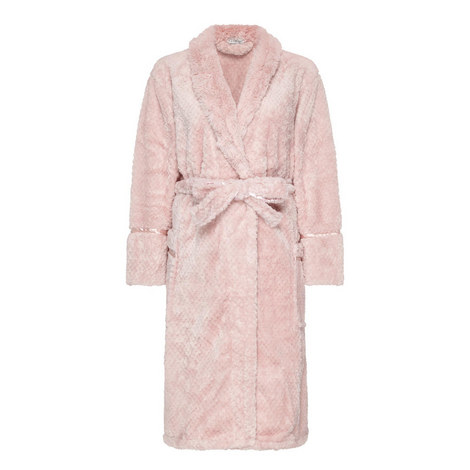 Waffle Texture Robe, ${color}