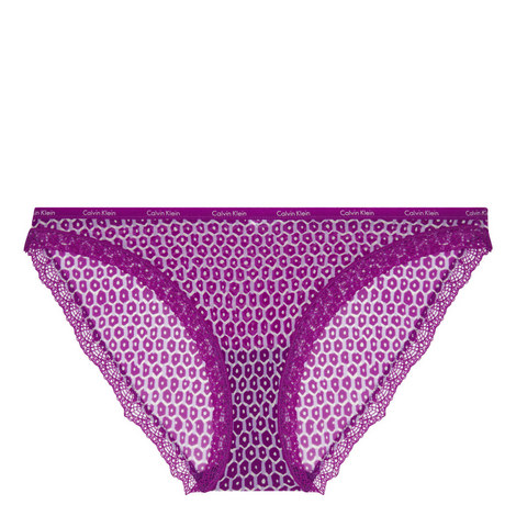 Bottoms Up Patterned Bikini Briefs, ${color}