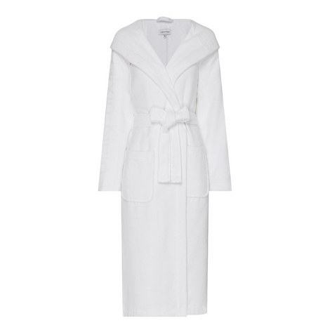 Hooded Terry Bath Robe, ${color}