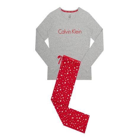Printed Pyjama Set, ${color}