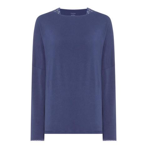 Seductive Comfort Long Sleeve Top, ${color}