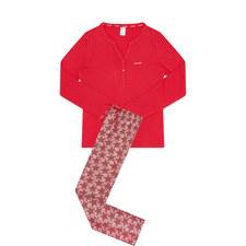 Dot Star Print Pyjamas