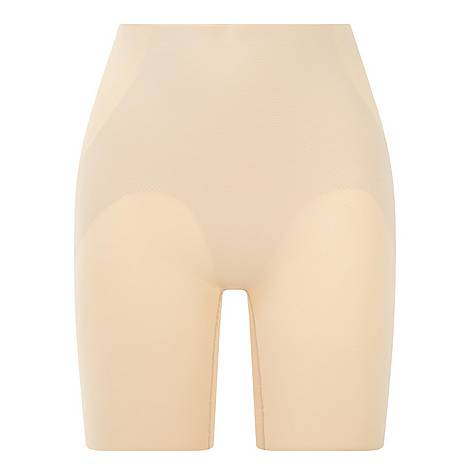 Beyond Naked Thigh Slimmer Shorts, ${color}