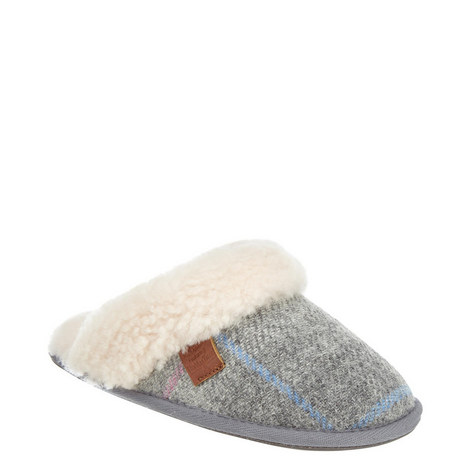 Kate Harris Tweed Slippers, ${color}