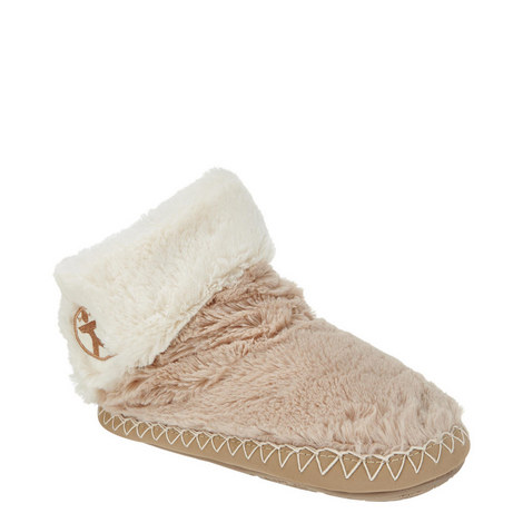 Audrey Faux Fur Slipper Boots, ${color}