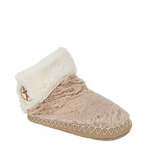 Audrey Faux Fur Slipper Boots, ${color}