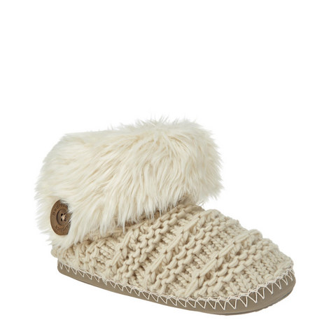 Ariana Knitted Slippers, ${color}