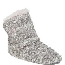 Celine Popcorn Knitted Slipper Boots