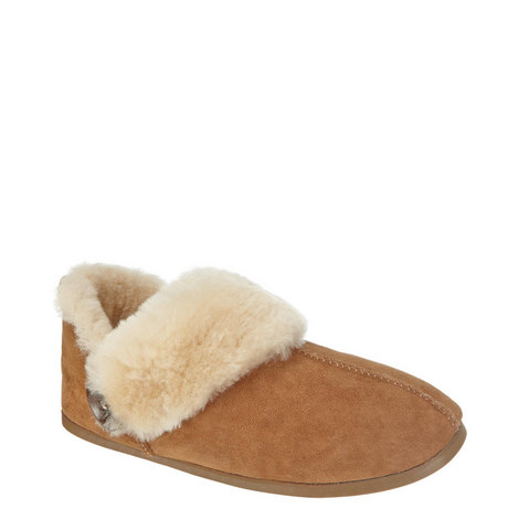 Samantha Sheepskin Slippers, ${color}