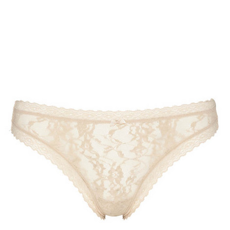 Signature Lace Table Thong, ${color}
