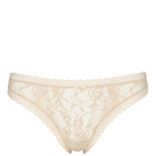 Signature Lace Table Thong