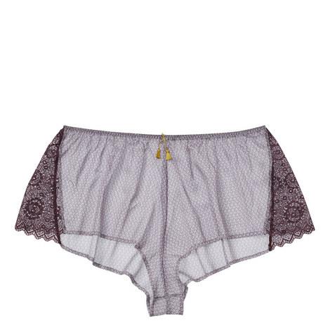 Breeze Lace Trim Shorties, ${color}