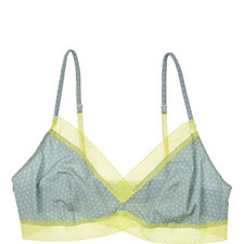 Touch Triangle Geometric Bralette