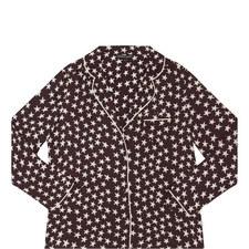 Julian Star Print Pyjama Top