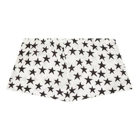 Sunday Star Print Pyjama Shorts, ${color}