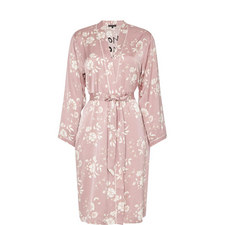 SusieFlower Print Robe