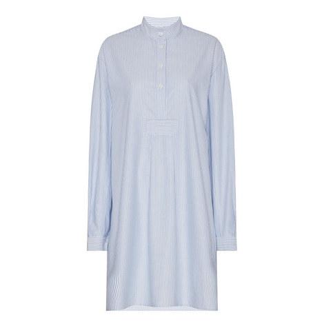 Oxford Stripe Night Shirt, ${color}