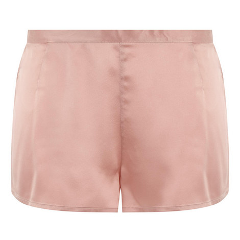 Silk Pyjama Shorts, ${color}