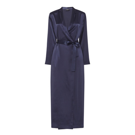 Long Silk Robe, ${color}