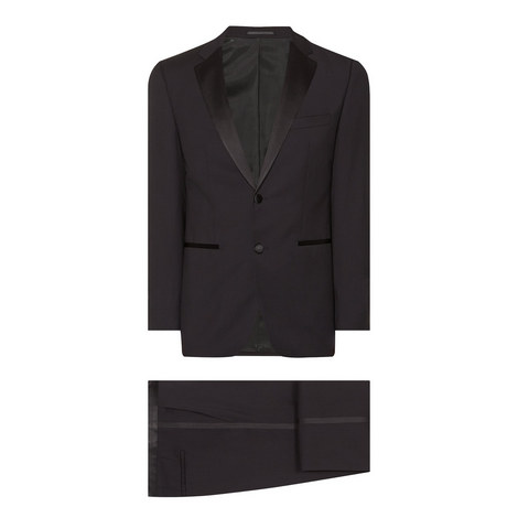 Black Slim Dinner Suit, ${color}