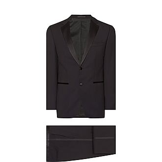 Black Slim Dinner Suit