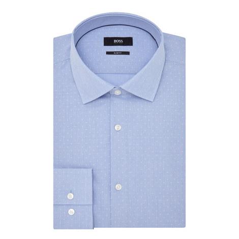 Juan Micro-Check Print Shirt, ${color}