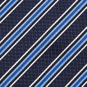 Striped Silk Tie, ${color}