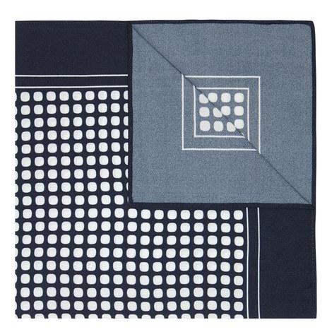 Dot Silk Pocket Square, ${color}