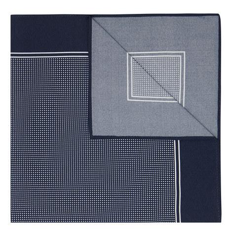 Pin Dot Silk Pocket Square, ${color}