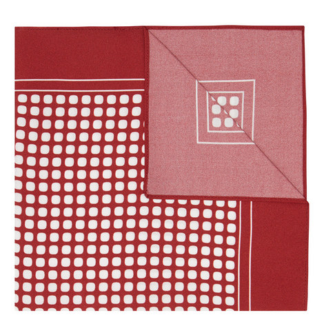 Dot Silk Pocket Square, ${color}