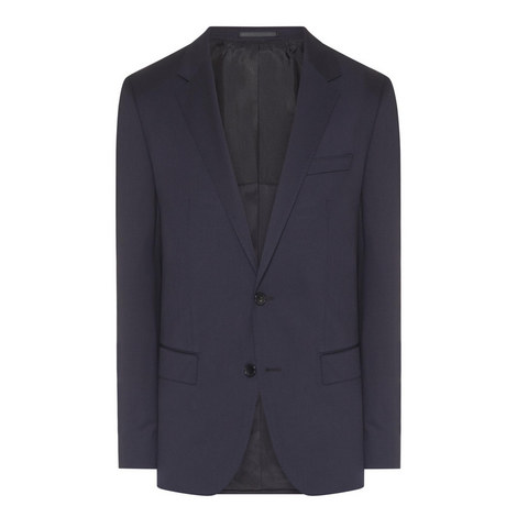 Hayes Single-Breasted Suit Jacket, ${color}